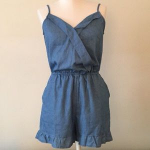 Skies Are Blue Romper 💙 Size S